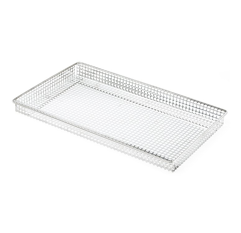 Stainless steel tray for french fries